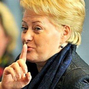 Атомная станция в Белоруссии мешает Грибаускайте
