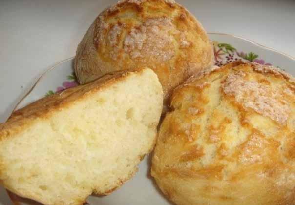 Быстрые булочки без яиц и дрожжей