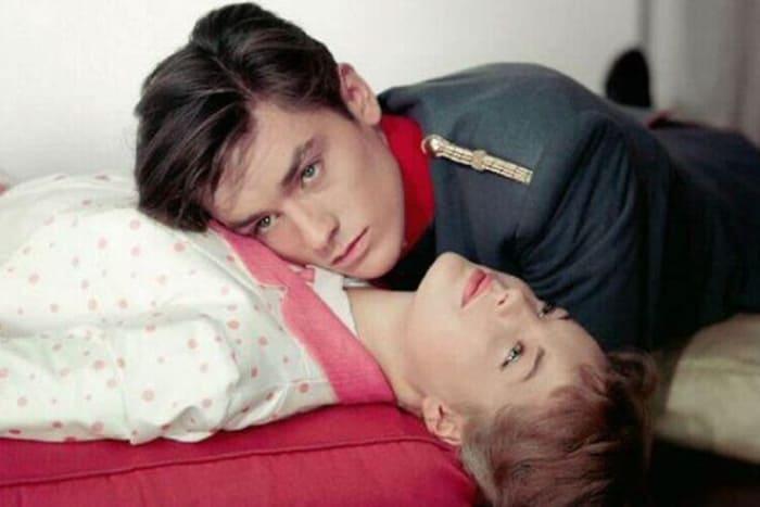 Ален Делон и Роми Шнайдер в фильме *Кристина*, 1958 | Фото: 24smi.org