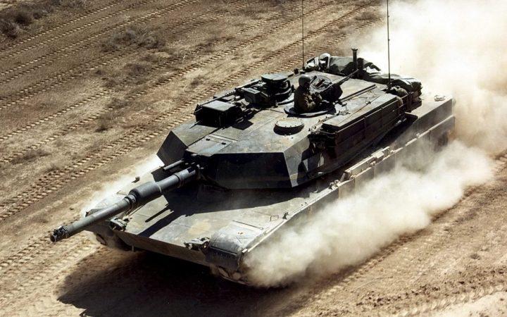 Американские танки «Abrams» в Европе получили дешевый «апгрейд»