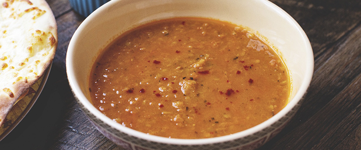 Чечевичный суп с говядиной