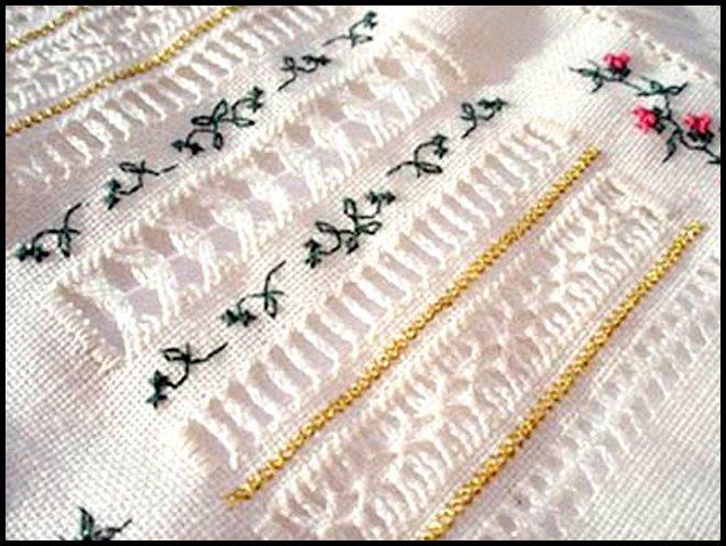 Мережка. Модная, красивая и уникальная вышивка