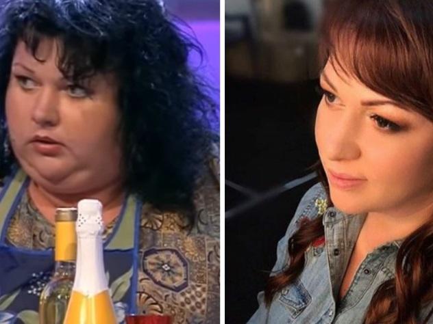 Актриса из шоу однажды в россии похудела