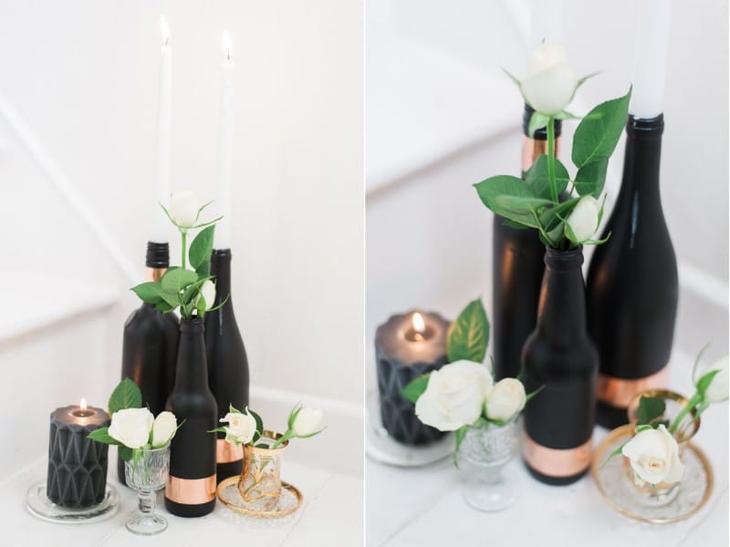 Идеи росписи бутылок своими руками