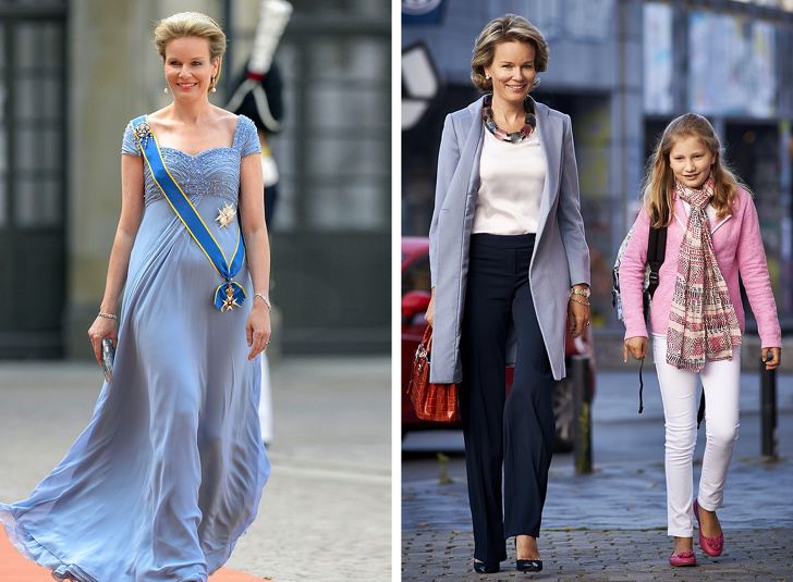 Как выглядят королевские особы и первые леди в обычной жизни королевские особы,мода и красота,одежда,первые леди,стиль