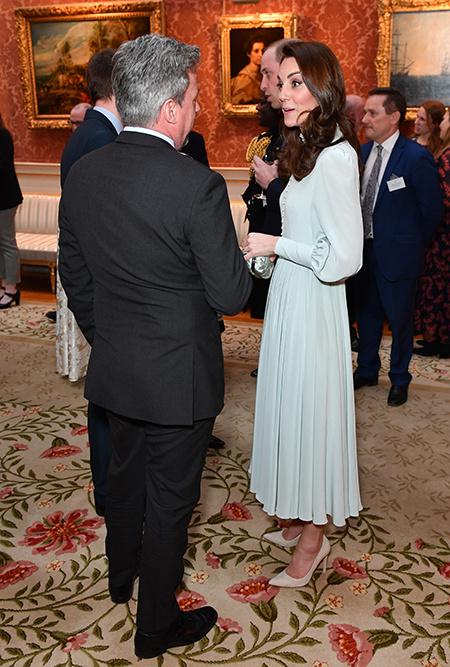 Кейт Миддлтон, Меган Маркл и другие на приеме в честь принца Чарльза Монархи / Британские монархи