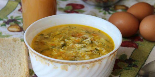советские рецепты: Суп «Кудрявый»