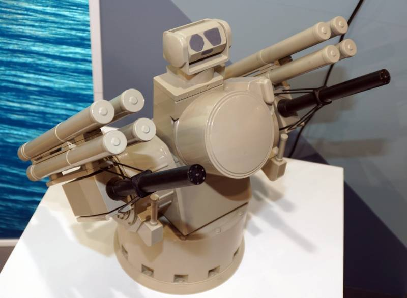 Ракетный катер ЧФ «Шуя» получит опытный образец комплекса «Панцирь-М»