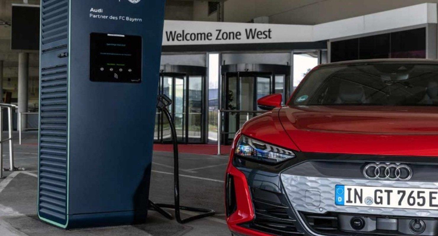 Audi электрифицирует ФК «Бавария» в Мюнхене Автомобили