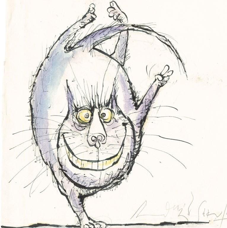 Кот задом наперед