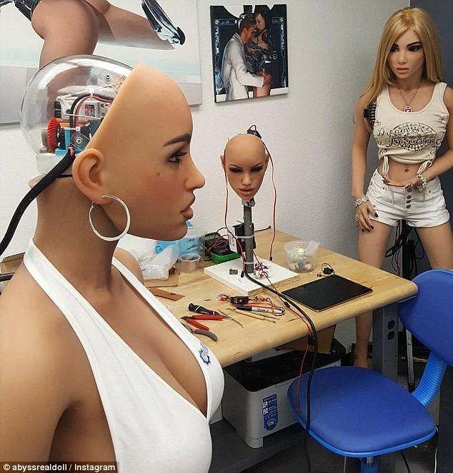 В данном случае речь идет только о секс-роботах с подключением к интернету, которых появляется все больше Восстание машин, Секс-куклы, криминал, роботы, технологии, убийства, фото, хакеры