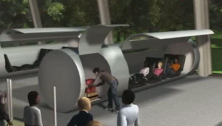 Вакуумный поезд Hyperloop первым могут запустить в России