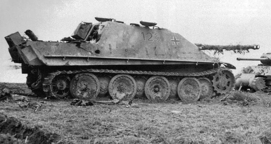 «Ягдпантера» на фоне «Пантеры» – мнение немецкого танкиста вооружение