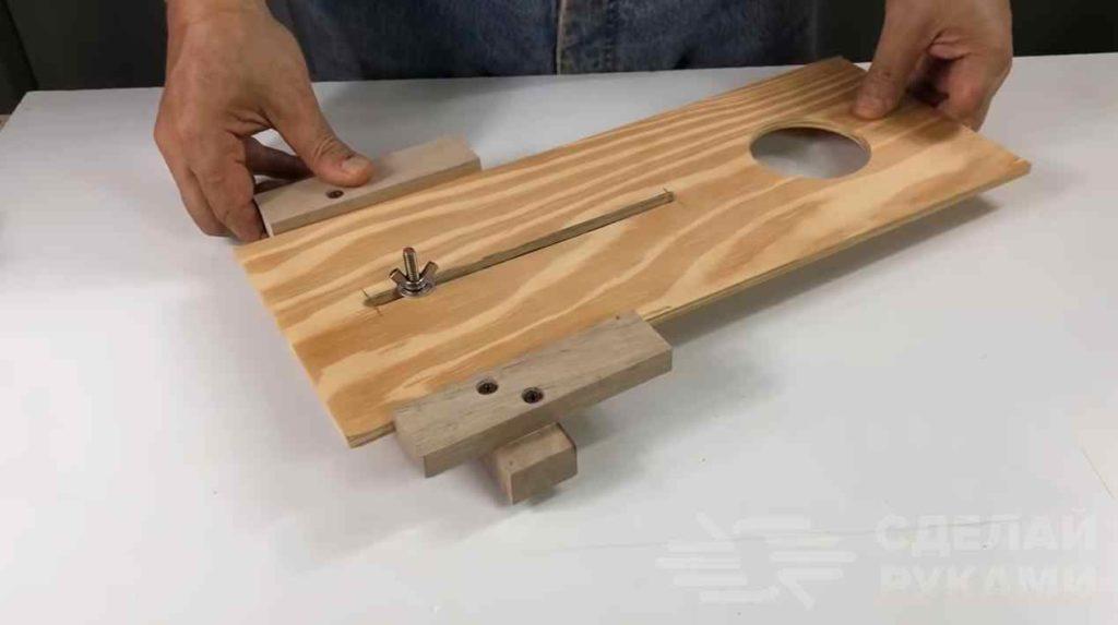 Направляющая для ручного фрезера своими руками самоделкин
