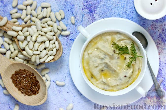 Фото приготовления рецепта: Паштет из фасоли, с мёдом и семенами льна - шаг №1
