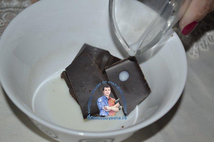 Шоколадное масло рецепт с фото