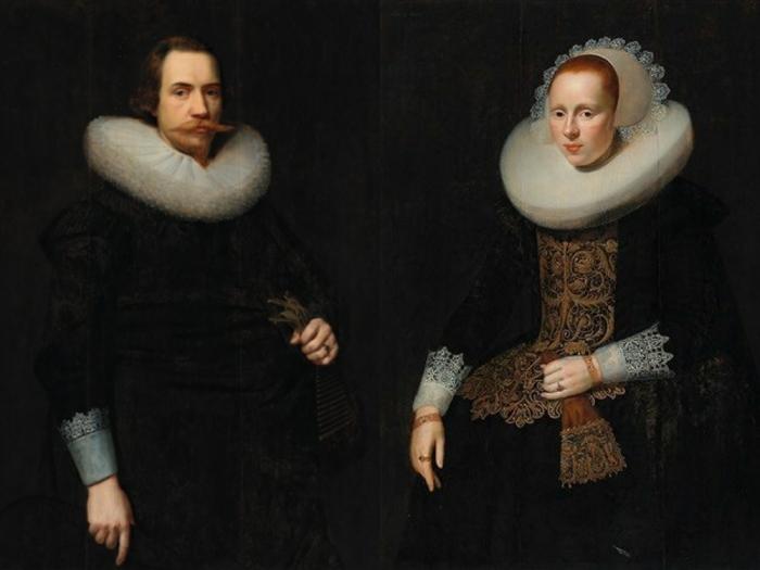 История появления кружевных воротников у испанцев