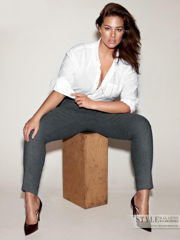 Стиль plus-size модели Эшли Грэм