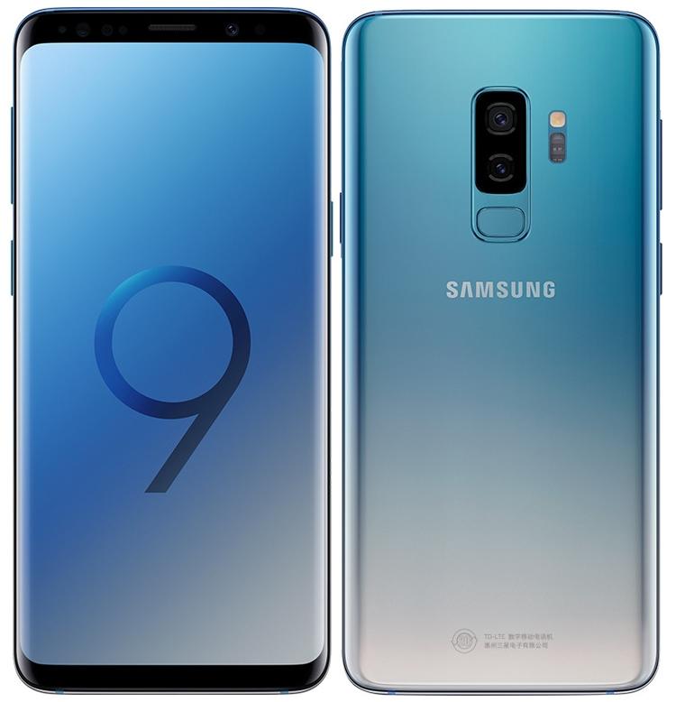 Смартфоны Samsung Galaxy S9 и S9+ предстали в градиентном цвете Ice Blue новости