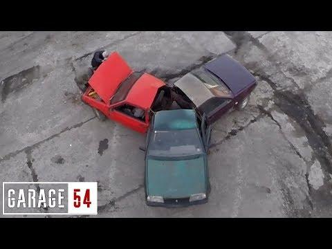 Автоспиннер из «девяток»: только в России