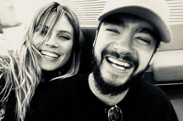 Счастливые и веселые: Хайди Клум опубликовала серию романтичных снимков с Томом Каулитцем