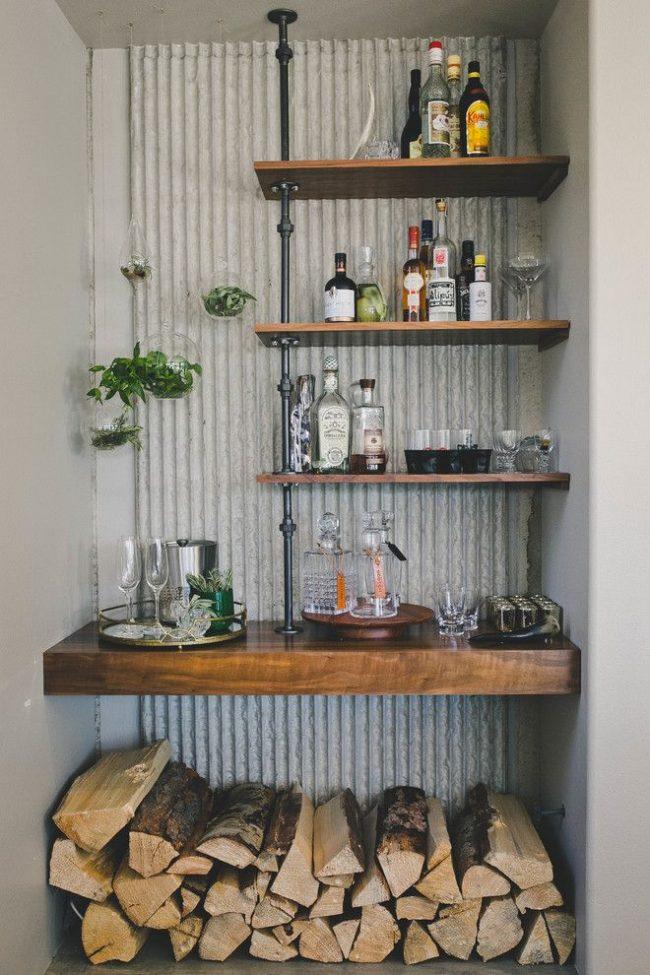 Мини бар для дома своими руками размеры