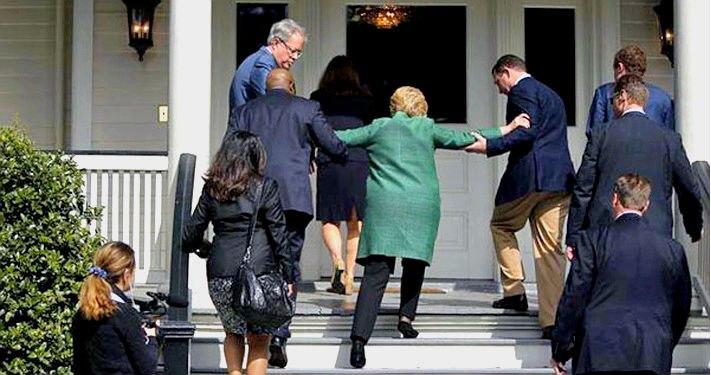 Здоровье Клинтон ставит ее кампанию под угрозу