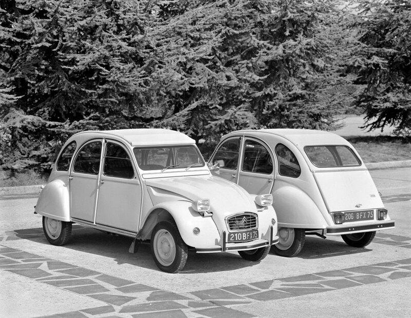 «Зонтик наколесах»: народный автомобиль по‑французски автомобиль