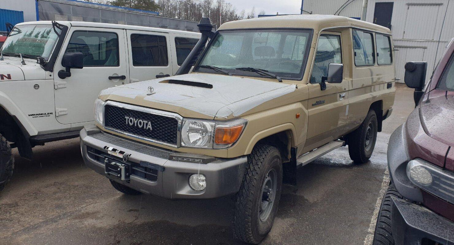Toyota TLC 78 — лучший внедорожник для больших путешествий Автомобили