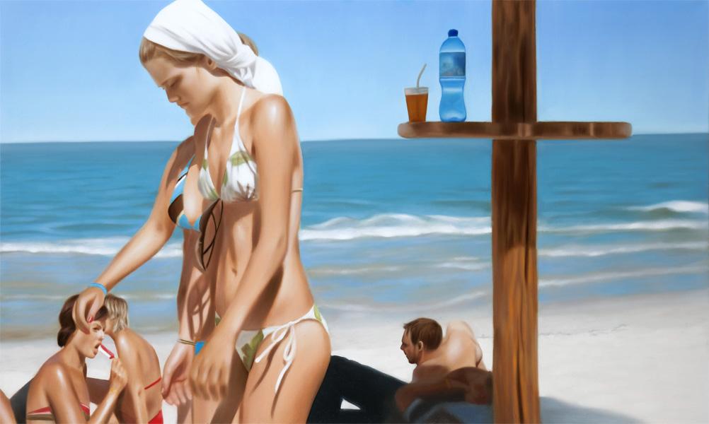 Пляжное настроение Каси Домански