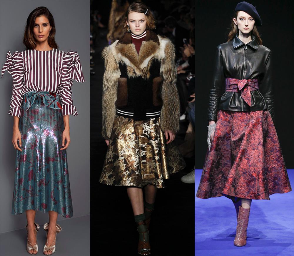 Подборка модных моделей юбок осень-зима 2017-2018