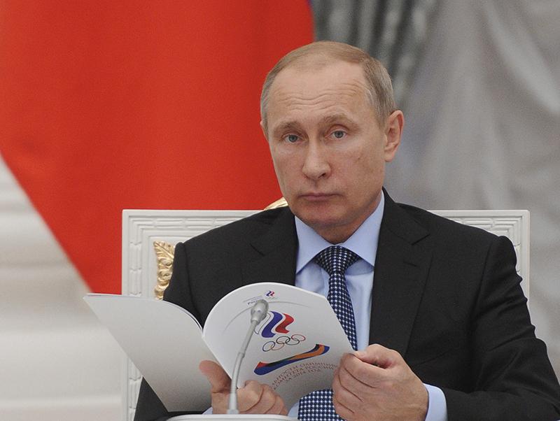 Владимир Путин признал вину России в допинговом скандале