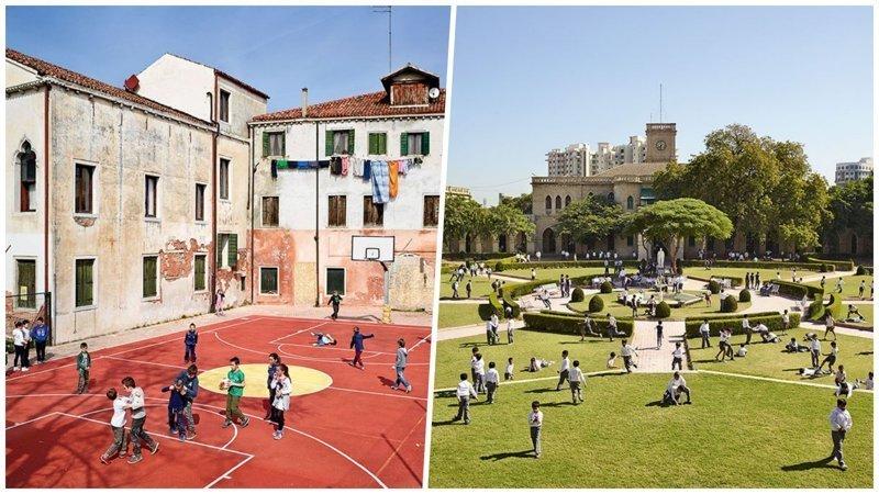 Как выглядят детские игровые площадки в разных городах и странах