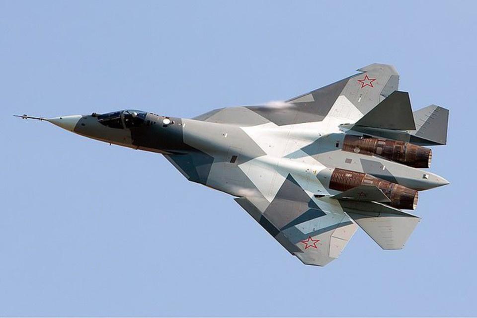 Полет новейших Су-57 в Сирии…