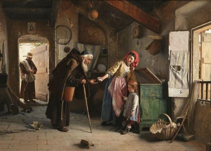 Мир детства XIX века на картинах Гаэтано Чиерици, за которые сегодня выкладывают баснословные суммы на аукционах живопись