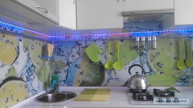 """Кухня в """"хрущевке"""" 6 кв.м - недорогой и очень красивый ремонт"""