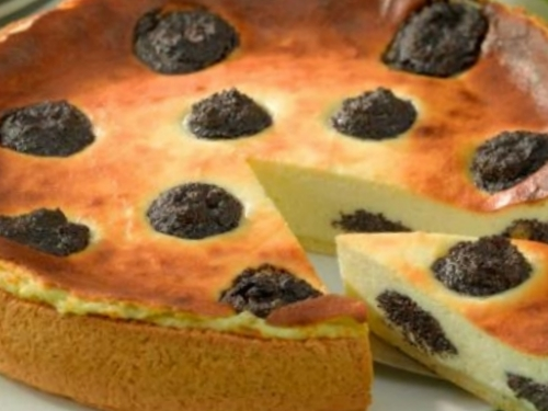 Пирог от бабушки с сырно-маковой начинкой. Фото-рецепт. Olga Dell