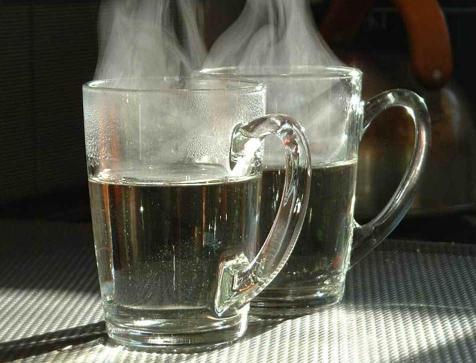 Стакан горячей воды для хорошего стула и от старости!