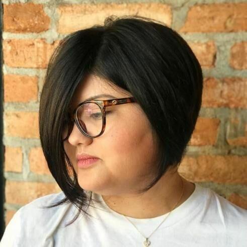 Стильные стрижки и прически для полных женщин внешность,волосы,мода и красота,полнота,прически,стрижки