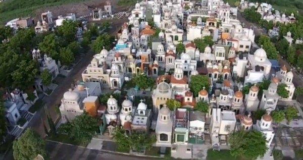 Мёртвый город мексиканских наркобаронов