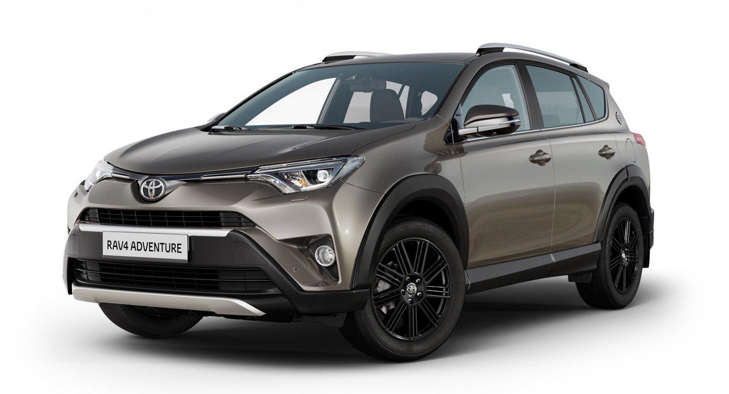 Кроссовер Toyota RAV4 получил в Европе новую версию – Adventure Автомобили