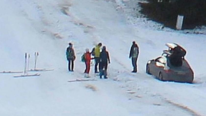 Водитель выехал на горнолыжную трассу из-за ошибки навигатора