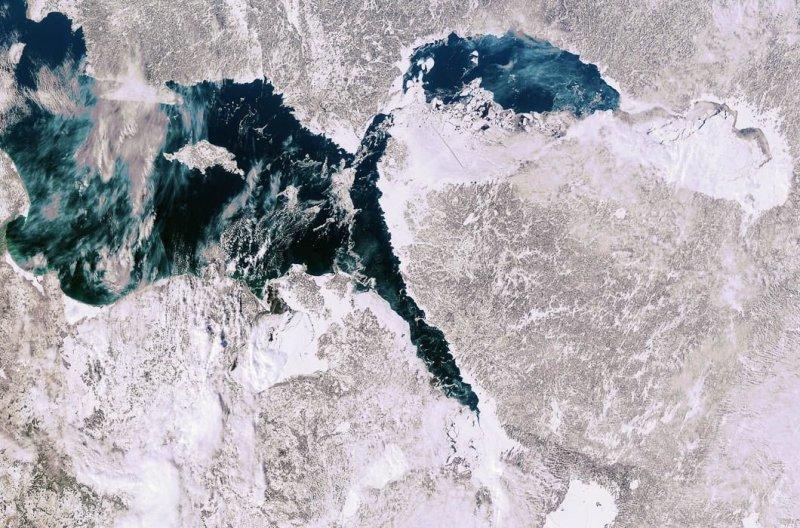 2. Балтийское море зимой. земля, космос, пейзаж, планета, природа, россия, фотосъемка