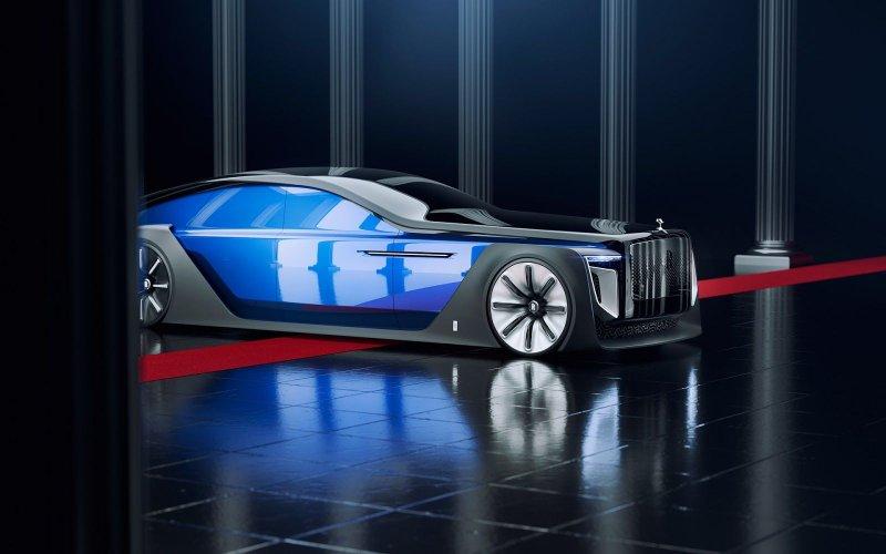 Rolls-Royce Exterion - концепт автомобиля будущего