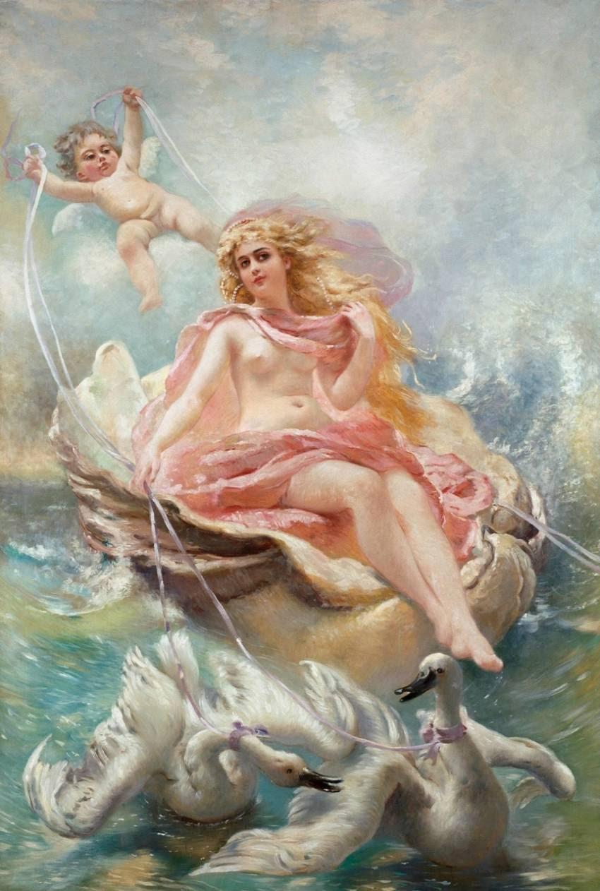 Афродита богиня любви картинки