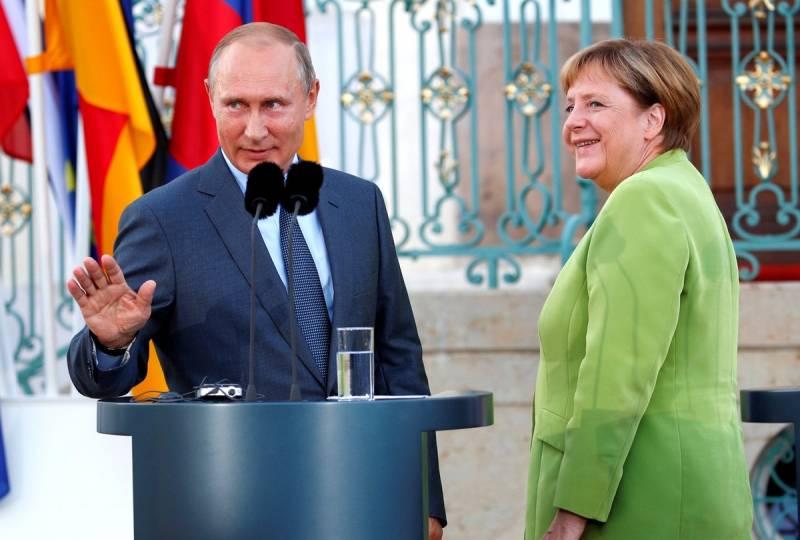Почему на Западе так боятся альянса России и Германии