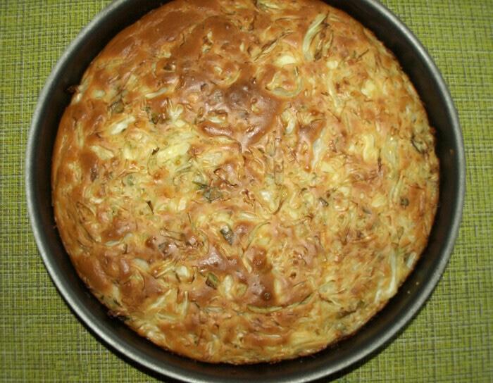 Заливной пирог с молодой капустой выпечка