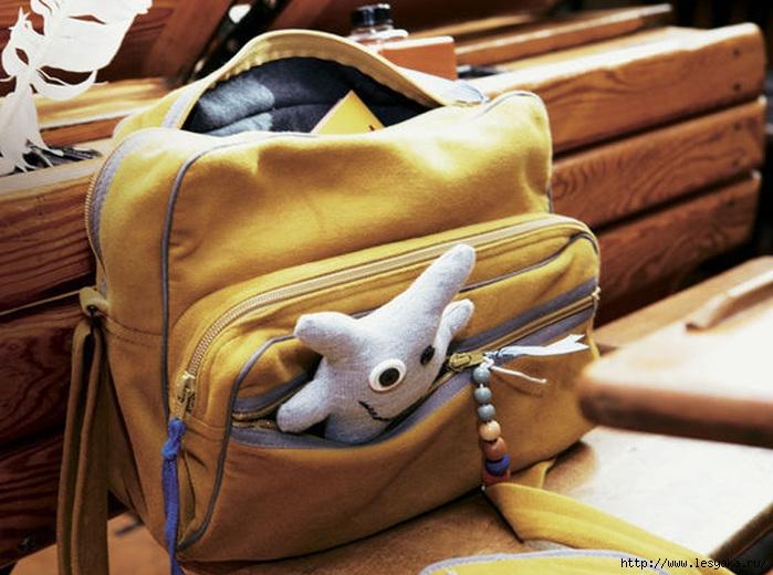 Шъём школьную сумку своими руками