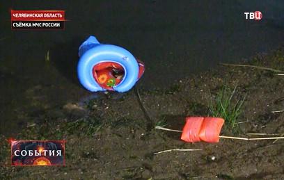 СКР сообщил о семи погибших на озере под Челябинском