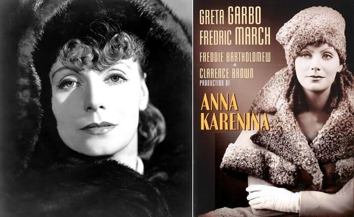 Грета Гарбо в роли Анны Карениной, 1935 | Фото: topnews.ru